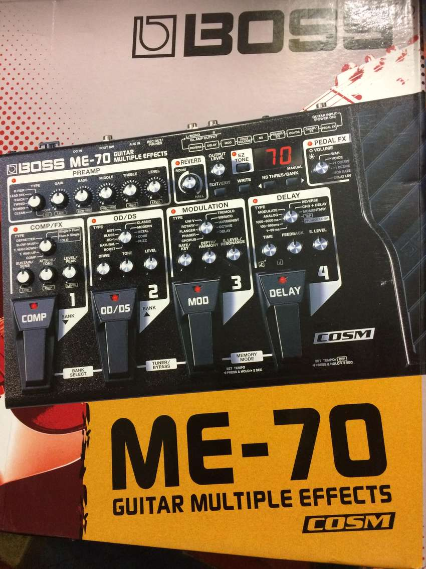 Boss ME-70 Multiple Effects for Sale 0