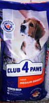 Клуб 4 лапы для средних пород.