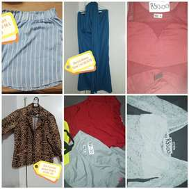 Used clothing and shoes for sale make a offer for all self collection