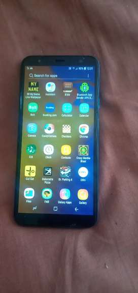 Samsung j4 core used with 3 crack on the screen but work 100%