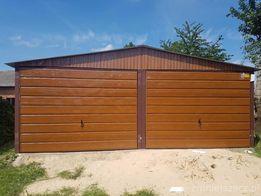 Złoty Dąb Garaze Blaszane Garaż Blaszak Blaszany Blaszaki 6x5