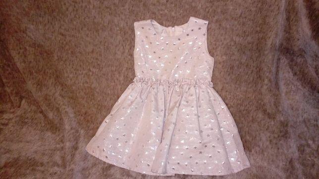 Śliczna sukienka 74 cm 6-9 m Oborniki - image 3