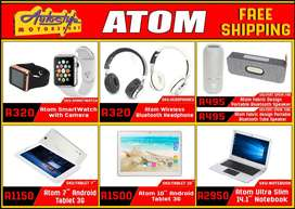 free shipping, tablets, laptops, smart watches, wireless speakers and