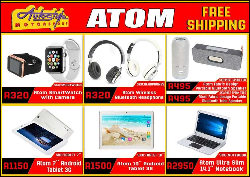 free shipping, tablets, laptops, smart watches, wireless speakers and 0