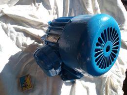 Электродвигатель,мотор 0.6kw,1350 об
