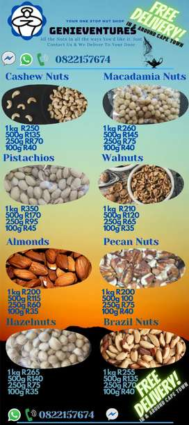 Nuts!!! Crazy Affordable good for you