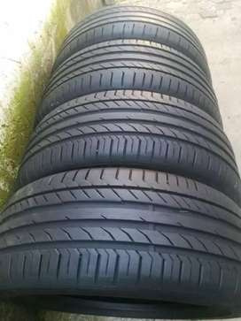 4×255/40/18 and 225/45/18 Continental RCS tyres for sale