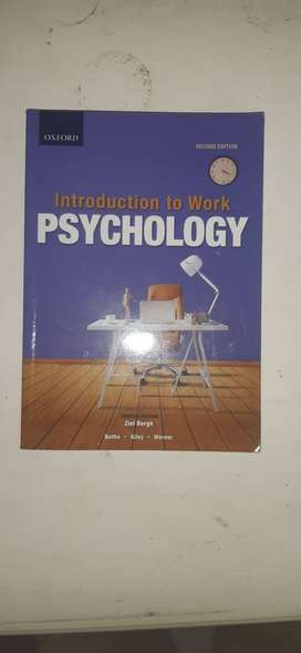 Introduction to work psychology handbook, 2nd edition.
