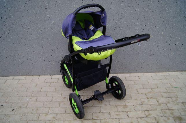 Piękny wózek CAMARELO SEVILLA 3w1 - piękna zieleń ! Wysyłka ! Elbląg - image 5