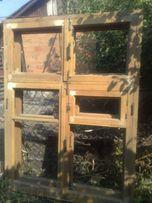 Окна деревянные (новые)