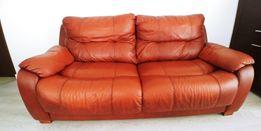 Skórzana kanapa z fotelem GALA COLLEZIONE