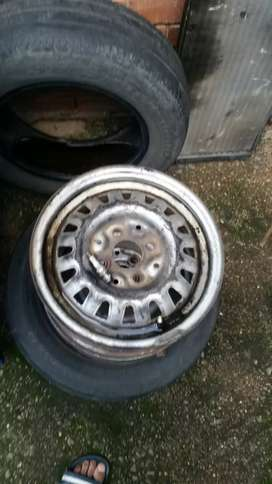 13 inch steel rims for golf 1