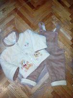 Комбінезон—костюми на холодну осінь,теплу зиму на зріст 80—86см