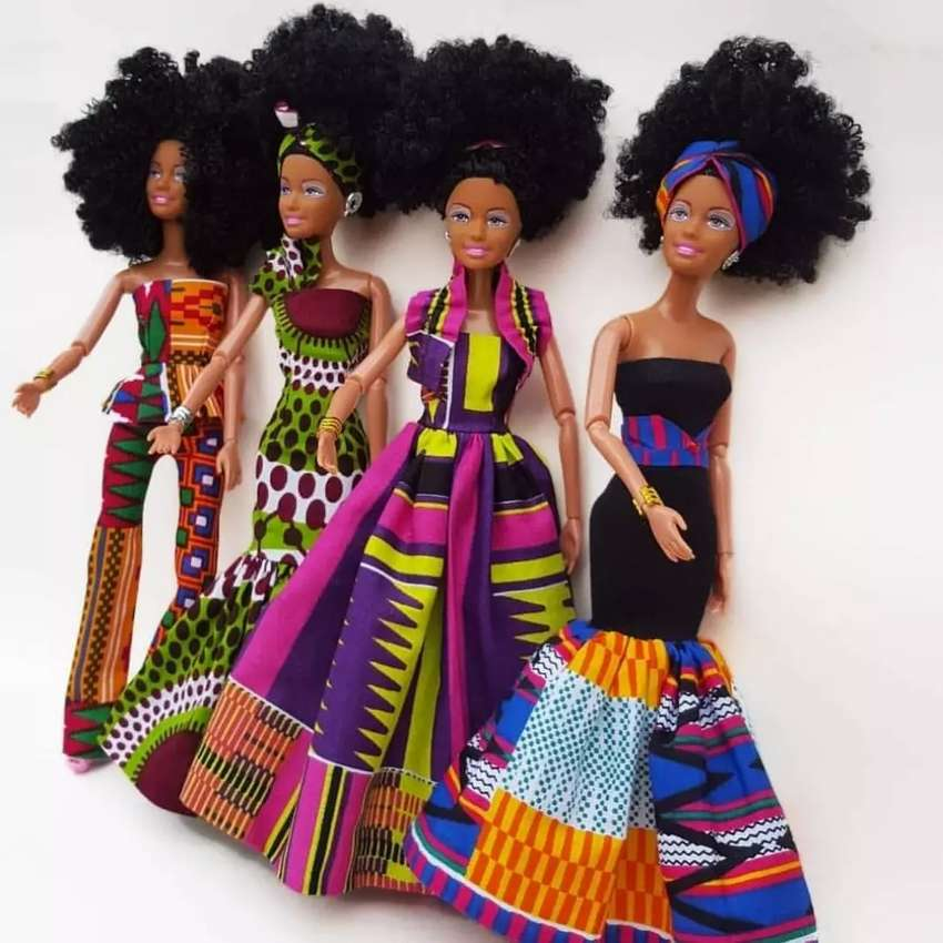 Black NANA DOLLS 0