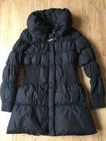 Czarna kurtka płaszczyk Zara Basic