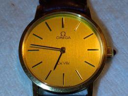 OMEGA DE VILLE zegarek szwajcarski damski mechaniczny pozłacany