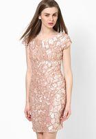 Коктейльное платье Miss Selfridge розовый кварц