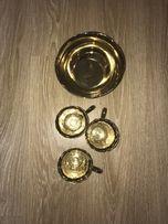 Набор посуды золотой