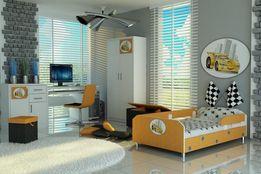 Łóżko dla dziecka, chłopca, auta, różne kolory i motywy, barierki,raty