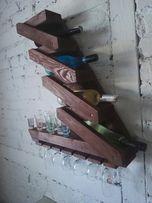 Półka na alkohole, barek, meble z palet Idealny Prezent