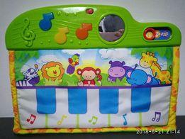 Miękkie pianinko dźwięki światełka