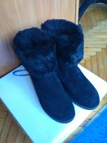 Женские замшевые ботинки 37 р.