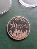 Medal Pamiątkowy 90 Lat Policji woj. Śląskiego, Moneta kolekcjonerska