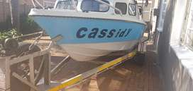 Moonraker Cabin Boat Cassidy for sale
