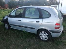 Renault Megane front smash selling as is