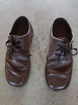 Grasshoppers brown men's shoes
