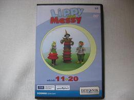 """""""Lippy and Messy"""" bajka dla dzieci DVD zamienię lub sprzedam"""