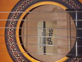 Stagg C440 full size Classic nylon string guitar with built in preamp