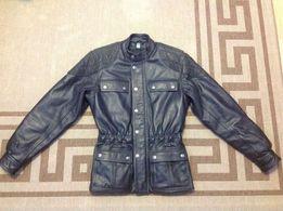 Куртка кожаная байкерская мужская CLASSIC GEAR ( Германия ).