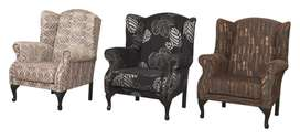 WINGBACK CHAIRS BRAND NEW