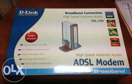 Продам ADSL модем D-link 200U