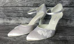 Nowe buty ślubne Growikar r.39 białe