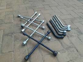 Wheel spanners for sale