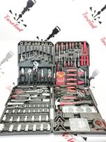 Набор инструментов LEX 186 предметов, ключи с трещёткой.POLAND