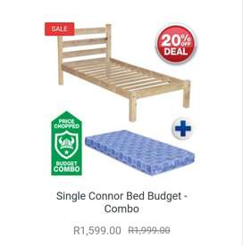 2 Single Beds and Mattress (3 Months old) R1100 each