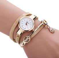 Zegarek złoty damski z bransoletą