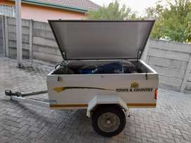 6ft challenger lugguge trailer without nosecone.