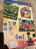 Super rodzinne gry. Mickey Mouse, quiz, miś, Disney. Okazja!