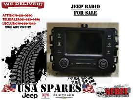 JEEP RENEGADE USED RADIO FOR SALE
