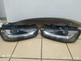 Audi A4 xenon headlights both sides available for pickup