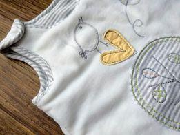 Велюровый конвертик Marks&Spencer для малыша мешочек для сна Новый