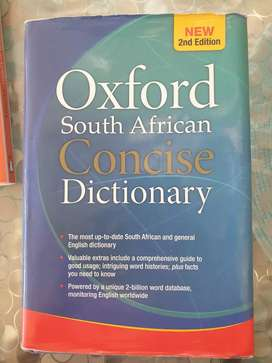 Dictionary 'Oxford South African Concise Dictionary'