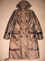 Продам пальто - пуховик (силикон) зима