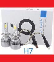 Светодиодние лампы LED •Н1, Н3, Н4, H7, Н11,C6F,HB3,НВ4•лампи дня авто