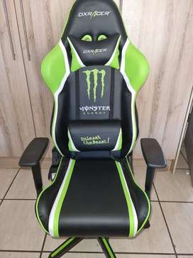 Limited edition Monster Energy DXRacer gaming chair