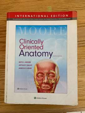 Clinically orientated anatomy Moore